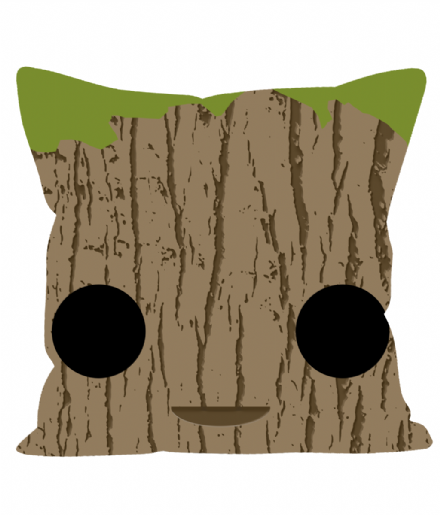 "Groot Square Head Design 12"" Sofa Cushion"